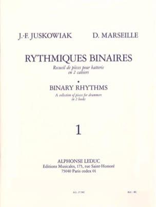 Rythmiques Binaires Volume 1 Juskowiak / Marseille laflutedepan
