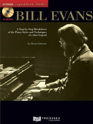 Keyboard Signature Licks Bill Evans Partition Jazz - laflutedepan