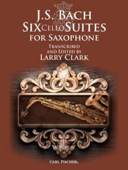 6 Cello Suites for Saxophone BACH Partition Saxophone - laflutedepan