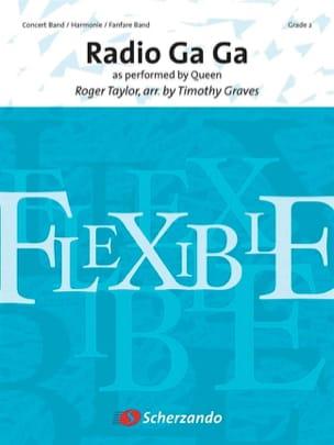 Radio Ga Ga Queen Partition ENSEMBLES - laflutedepan
