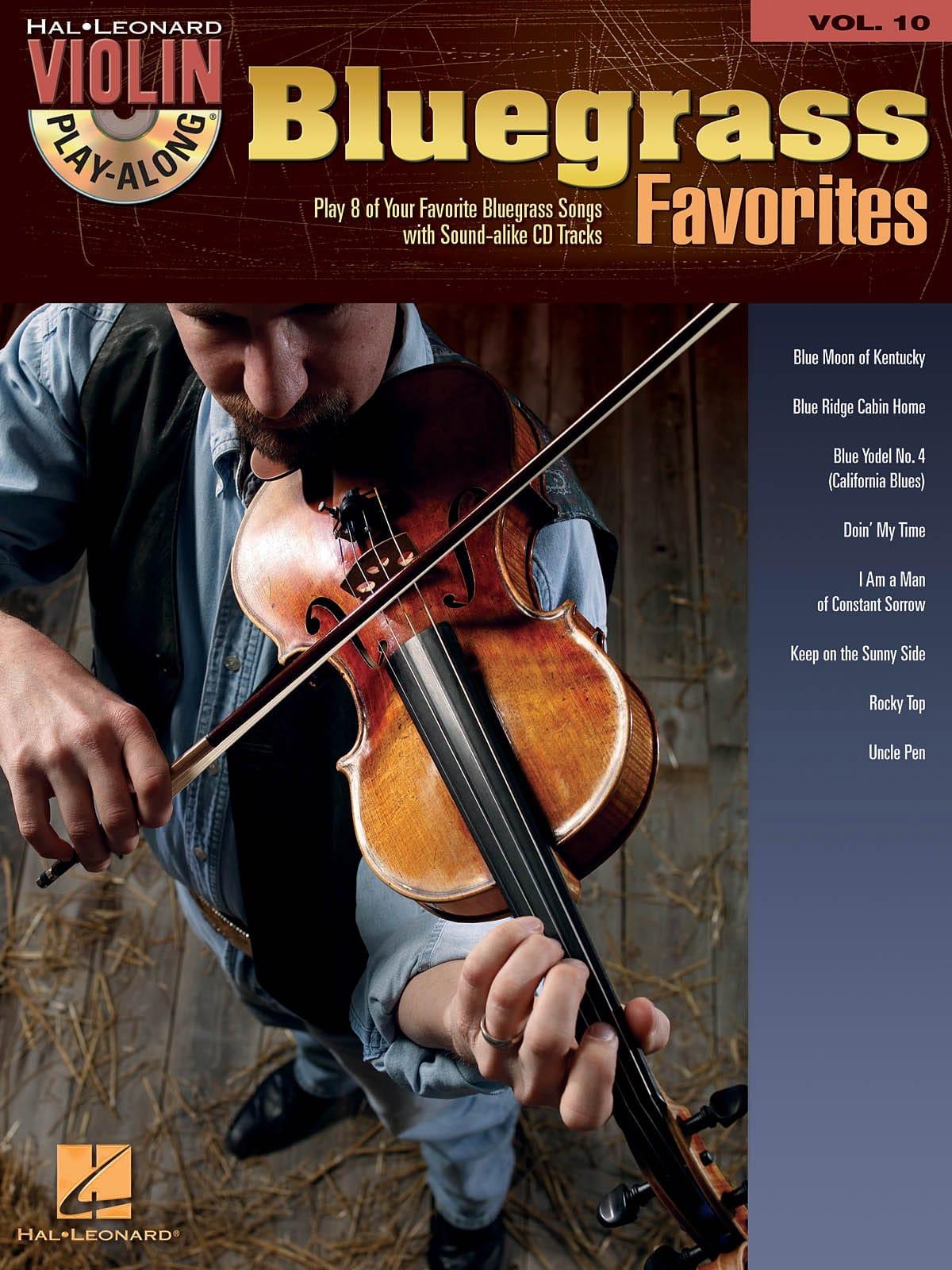 Violon Play-Along Volume 10 - Bluegrass Favorites - laflutedepan.com