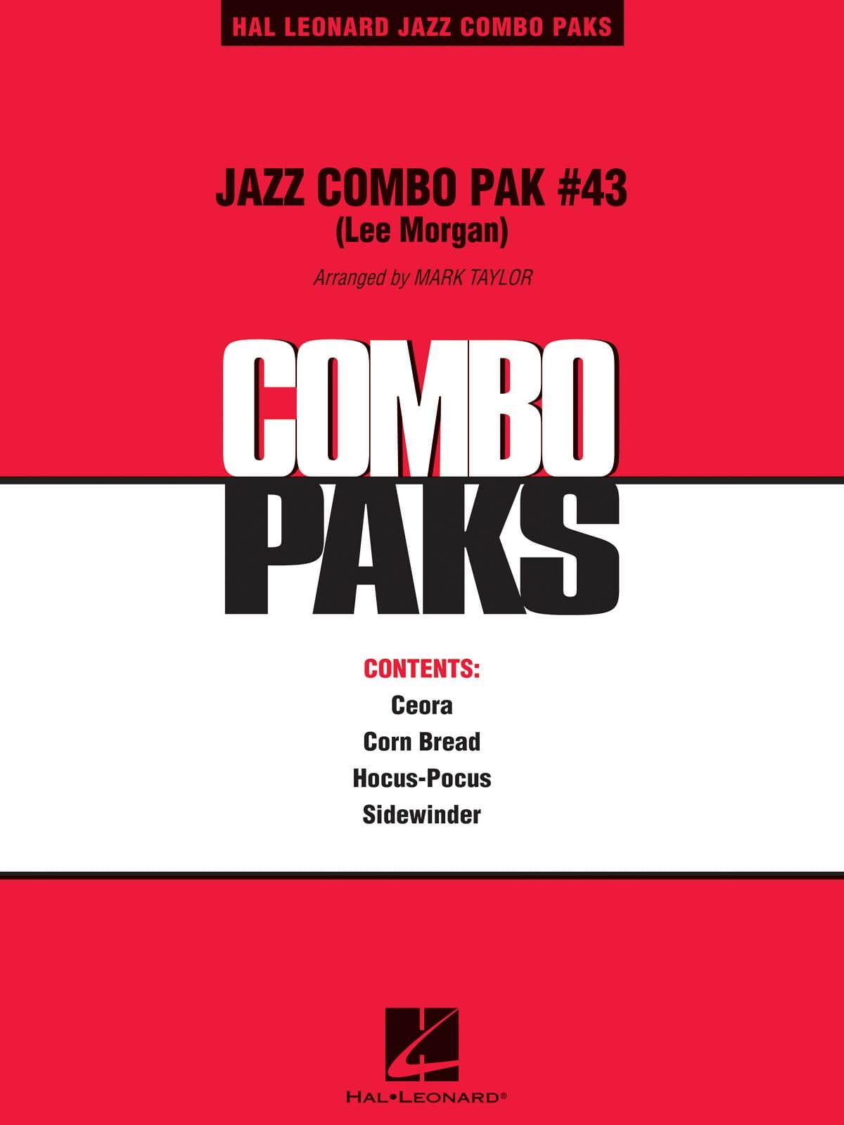 Jazz Combo Pak # 43 - Lee Morgan - Partition - laflutedepan.com