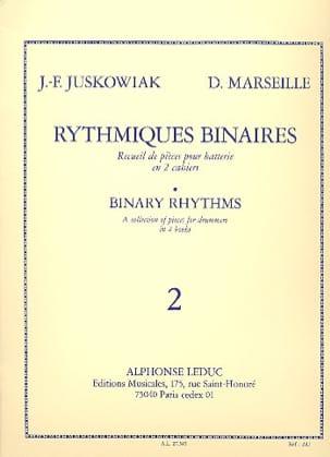 Rythmiques Binaires Volume 2 Juskowiak / Marseille laflutedepan