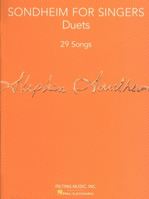 Sondheim for Singers - Vocal Duets Collection laflutedepan