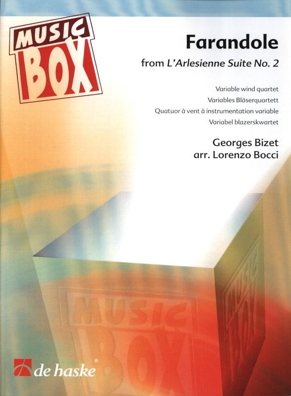 Farandole l'arlesienne suite n° 2 - music box - laflutedepan.com