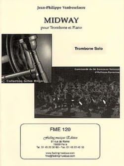 Midway Jean-Philippe Vanbeselaere Partition Trombone - laflutedepan