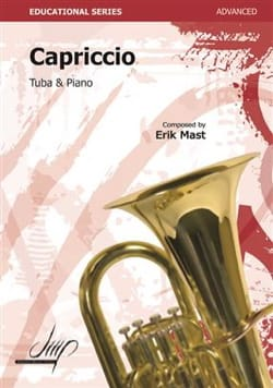 Capriccio Erik Mast Partition Tuba - laflutedepan
