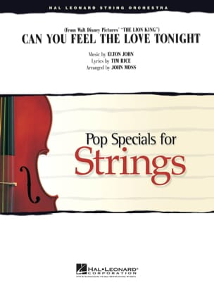 Can You Feel the Love Tonight du film le Roi Lion - Pop Specials for Strings laflutedepan
