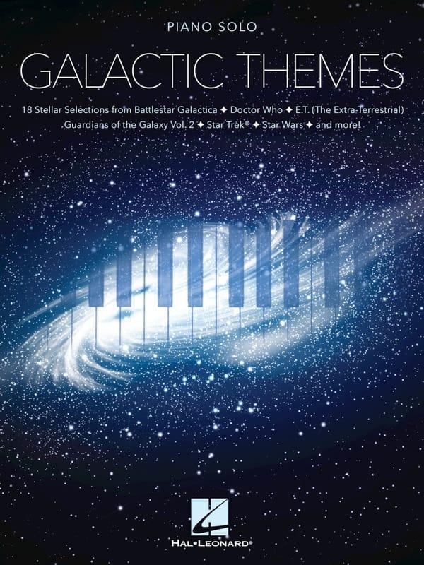 Galactic Themes - Partition - Musique de film - laflutedepan.com