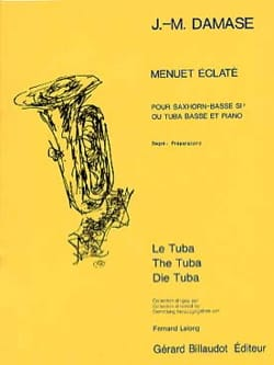 Menuet Eclaté Jean-Michel Damase Partition Tuba - laflutedepan