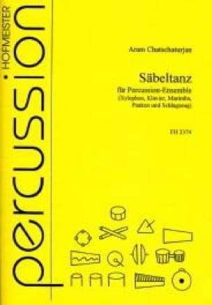 Säbeltanz - Aram Chatschaturjan - Partition - laflutedepan.com