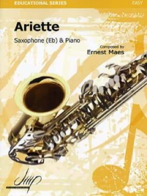Ariette - Ernest Maes - Partition - Saxophone - laflutedepan.com