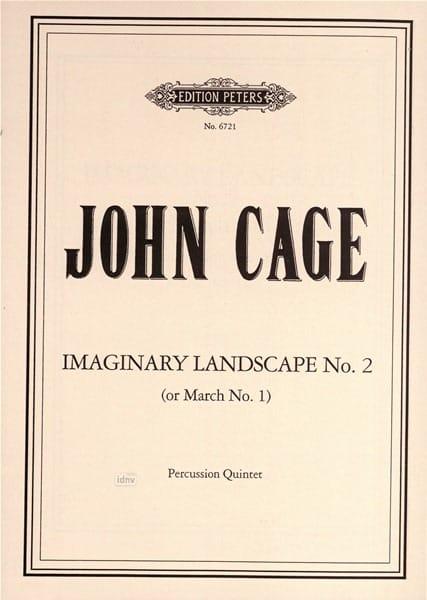 Imaginary Landscape Nr. 2 (Marsch Nr. 1) - score - laflutedepan.com