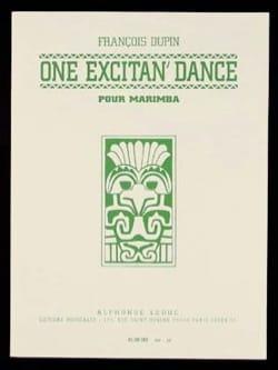 One Excitan' Dance François Dupin Partition Marimba - laflutedepan