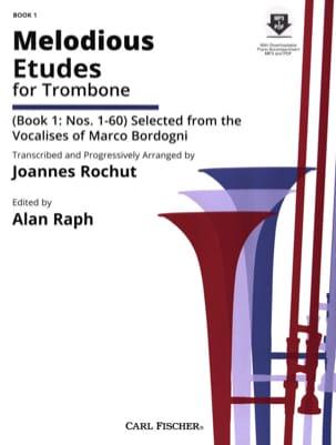 Melodious etudes for trombone Book 1: N° 1-60 laflutedepan