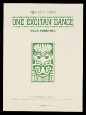 One Excitan' Dance - François Dupin - Partition - laflutedepan.com