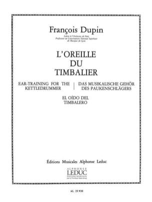 Oreille du Timbalier François Dupin Partition Timbales - laflutedepan