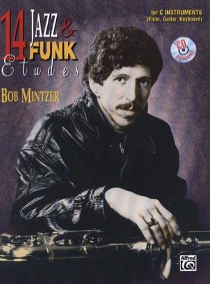 14 Jazz & Funk Etudes Bob Mintzer Partition laflutedepan