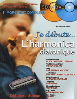 Je Débute l'Harmonica Diatonique Partition laflutedepan