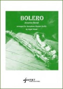 Boléro - RAVEL - Partition - Saxophone - laflutedepan.com