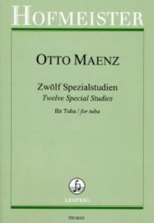 12 Special studies - Otto Maenz - Partition - Tuba - laflutedepan.com