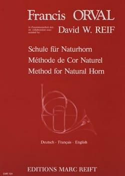 Méthode de Cor Naturel Orval Francis / Reif David W. laflutedepan