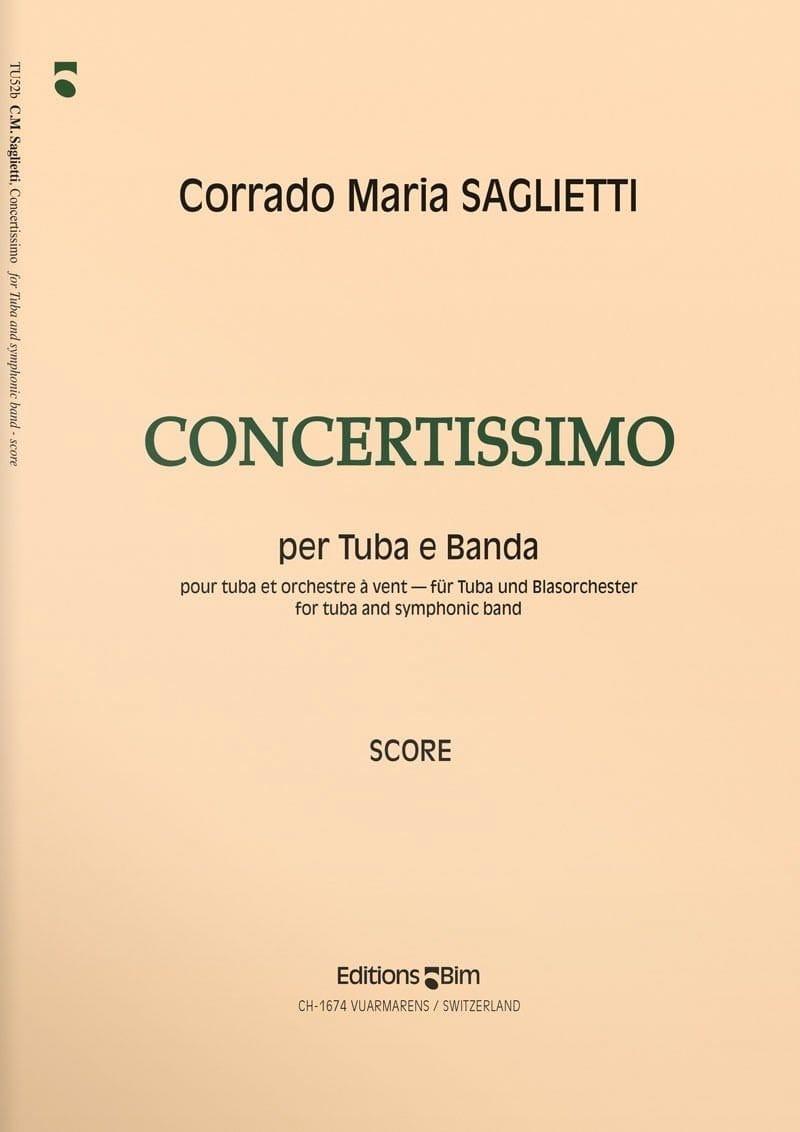Concertissimo - Corrado Maria Saglietti - Partition - laflutedepan.com