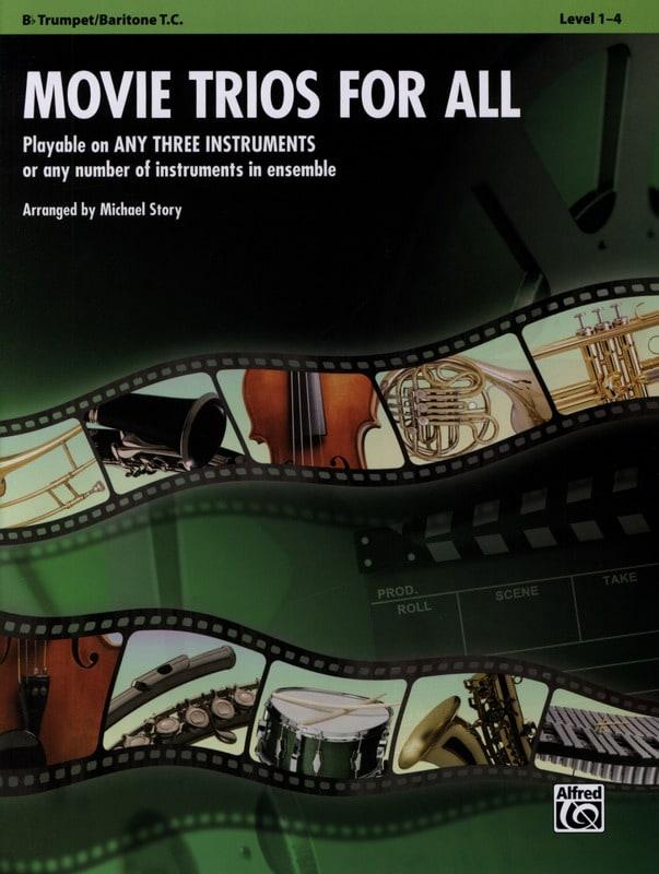 Movie trios for all - Partition - Trompette - laflutedepan.com