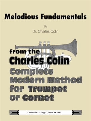 Melodious Fundamentals Charles Colin Partition laflutedepan