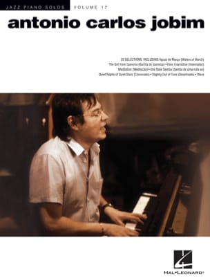 Jazz Piano Solos Volume 17 - Antonio Carlos Jobim laflutedepan