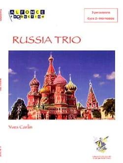Russia trio Yves Carlin Partition laflutedepan
