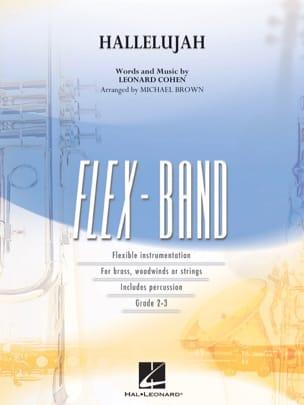 Hallelujah - Flexband Leonard Cohen Partition ENSEMBLES - laflutedepan