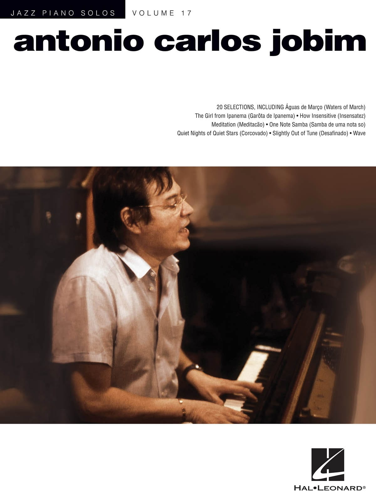 Jazz Piano Solos Volume 17 - Antonio Carlos Jobim - laflutedepan.com