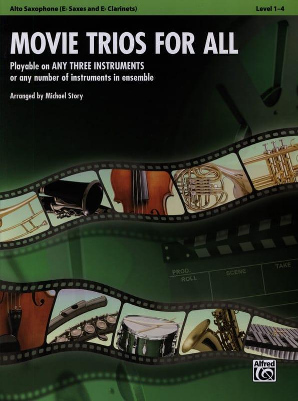 Movie trios for all - Partition - Saxophone - laflutedepan.com