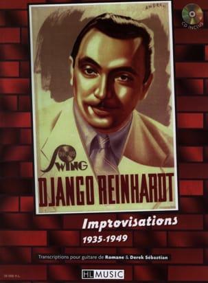 Improvisations 1935-1949 Django Reinhardt Partition laflutedepan