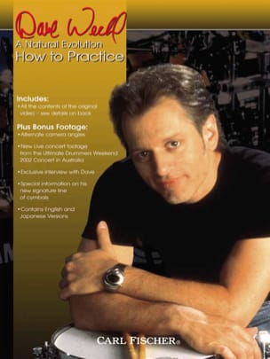 DVD - A Natural Evolution - How To Practice Dave Weckl laflutedepan