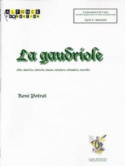 La gaudriole René Potrat Partition laflutedepan