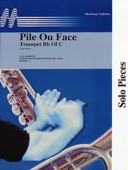 Pile ou Face Serge Lancen Partition Trompette - laflutedepan