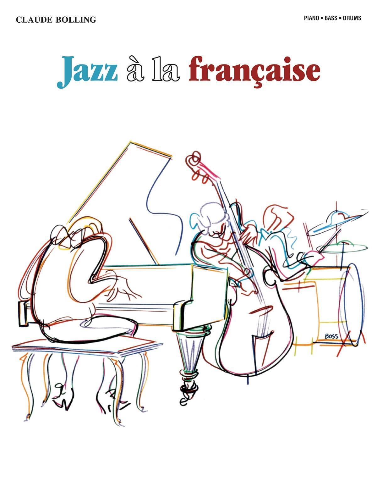 Jazz A la Française - Claude Bolling - Partition - laflutedepan.com
