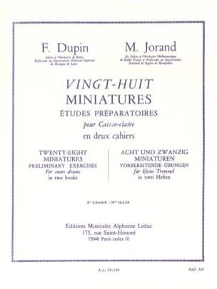 28 Miniatures - Volume 2 - laflutedepan.com