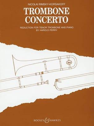 Trombone Concerto RIMSKY-KORSAKOV Partition Trombone - laflutedepan