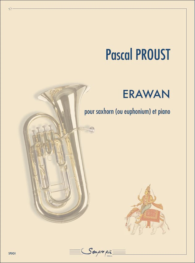 Erawan - Pascal Proust - Partition - Tuba - laflutedepan.com