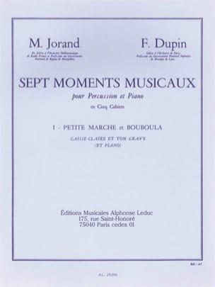 7 Moments Musicaux Volume 1 Petite Marche Et Bouboula laflutedepan