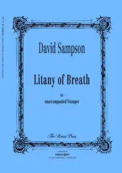 Litany of breath David Sampson Partition Trompette - laflutedepan