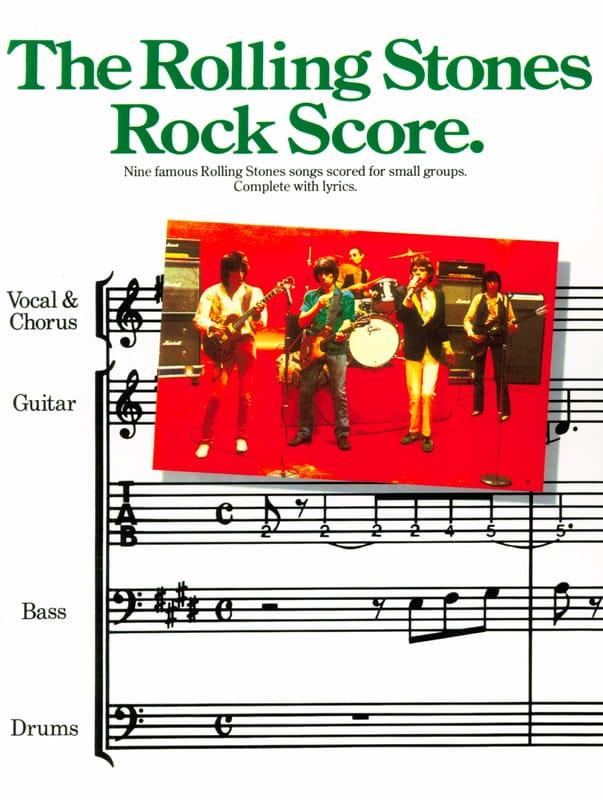 Rock score - ROLLING STONES - Partition - laflutedepan.com