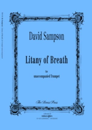 Litany of breath - David Sampson - Partition - laflutedepan.com