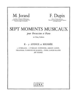 7 Moments Musicaux Volume 2 - 5e Avenue Et Bourrée laflutedepan