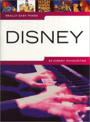 Really easy piano - Disney DISNEY Partition laflutedepan