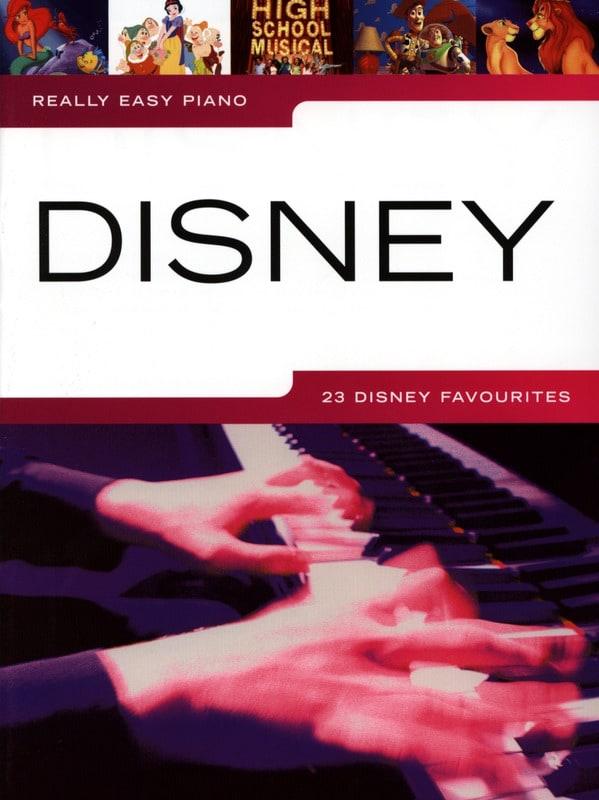 Really Easy Piano - DISNEY - Partition - laflutedepan.com