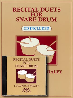 Recital Duets For Snare Drum Garwood Whaley Partition laflutedepan